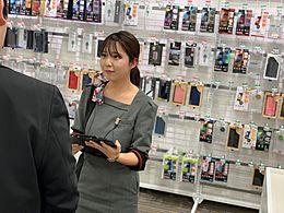 「笑顔を活かしたい」「携帯ショップに興味がある」「接客販売に興味がある」方大歓迎!  「やってみたい!」を尊重します。